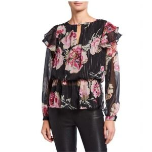 Walter Baker Floral Evelyn Blouse